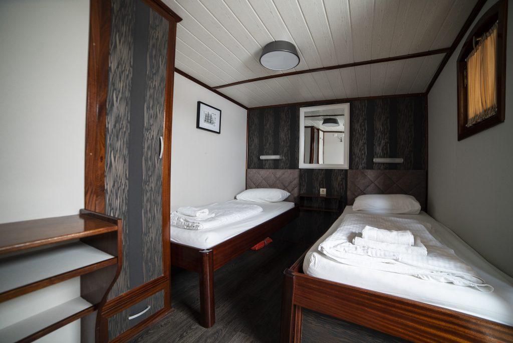 above-deck cabin Magellan