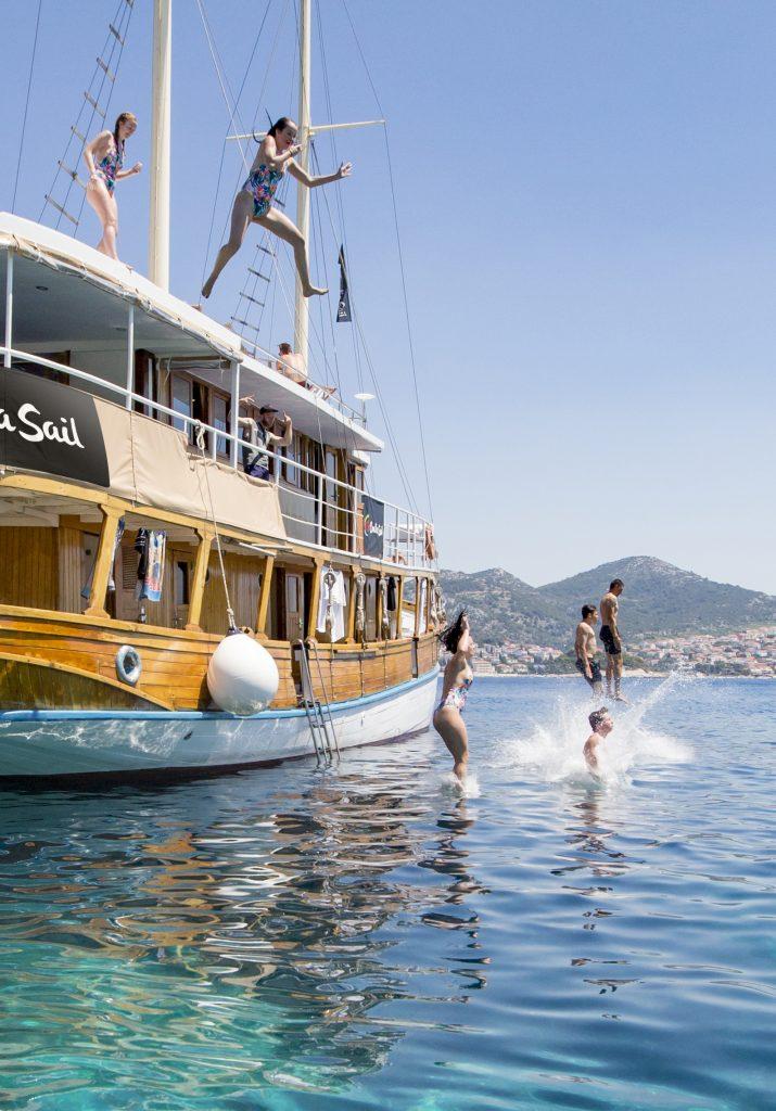 boat jump