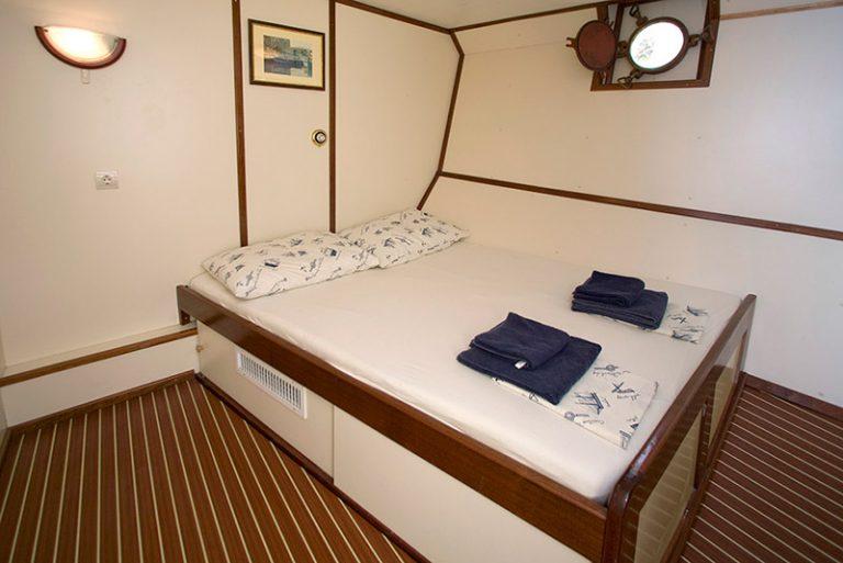Below-deck cabin.