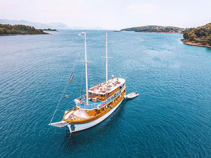 Novi Dan - a truly lovely A-Cat boat