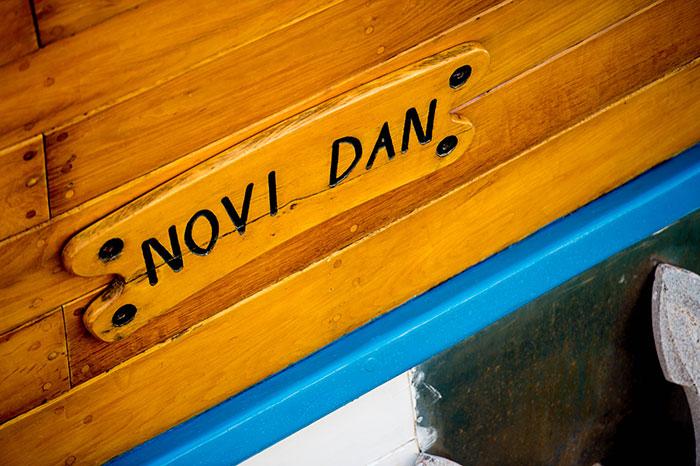 "Novi Dan means ""New Day"" in English"