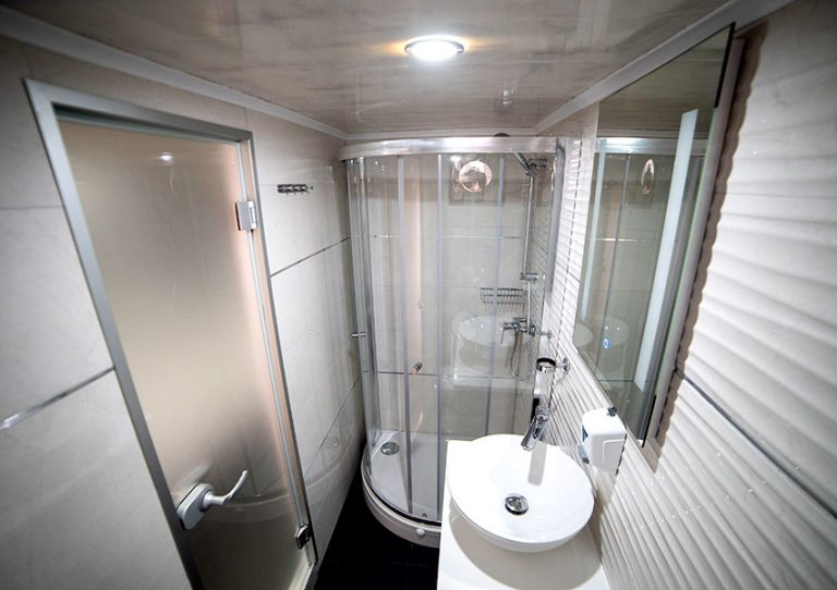Another shower room.