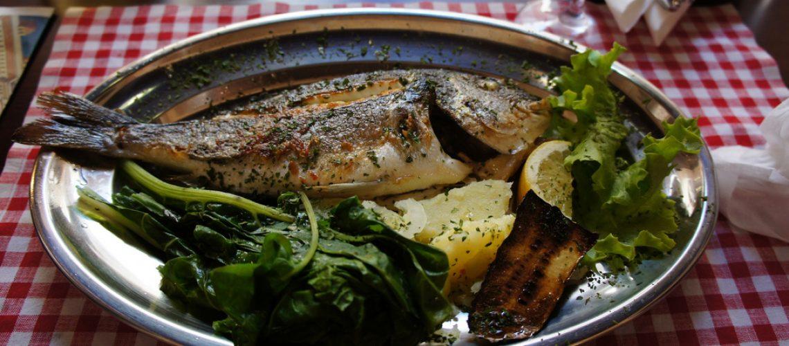 Croatian-cuisine-grilled-fish
